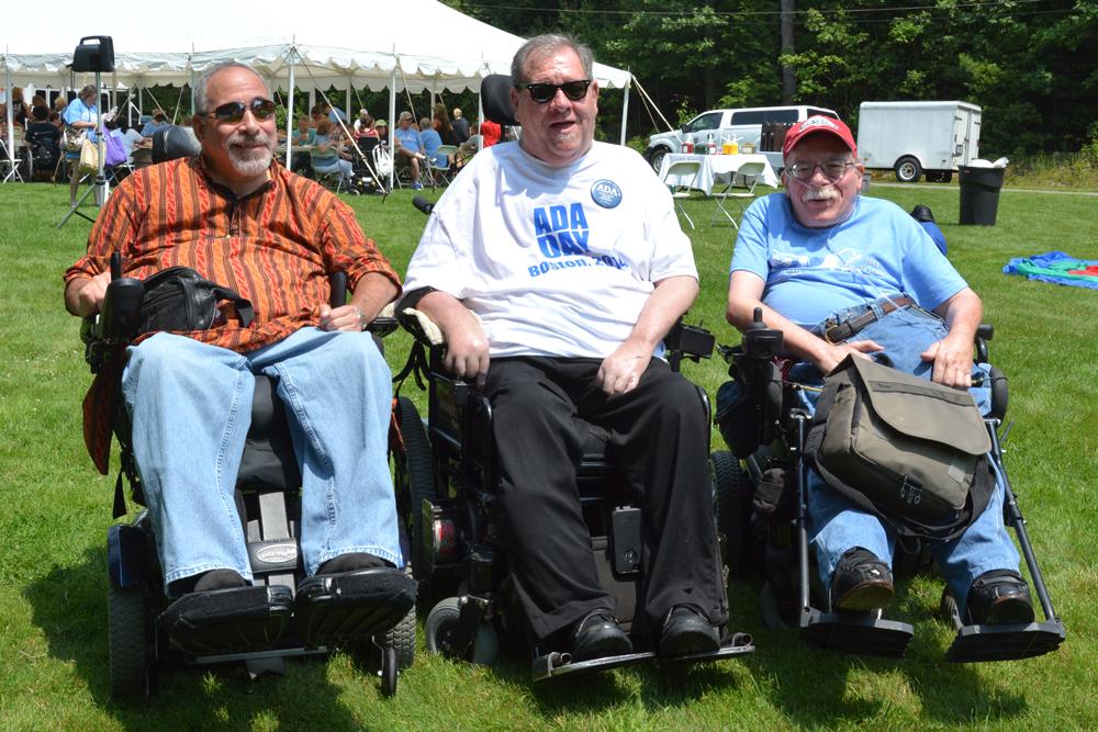 Joe Tringali, Charlie Carr and Paul Spooner