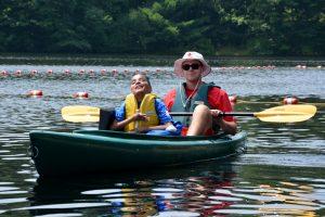 Carmen kayaking 2014 ADA celebration