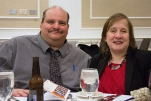 Joe and Linda at MWCIL Gala in 2015